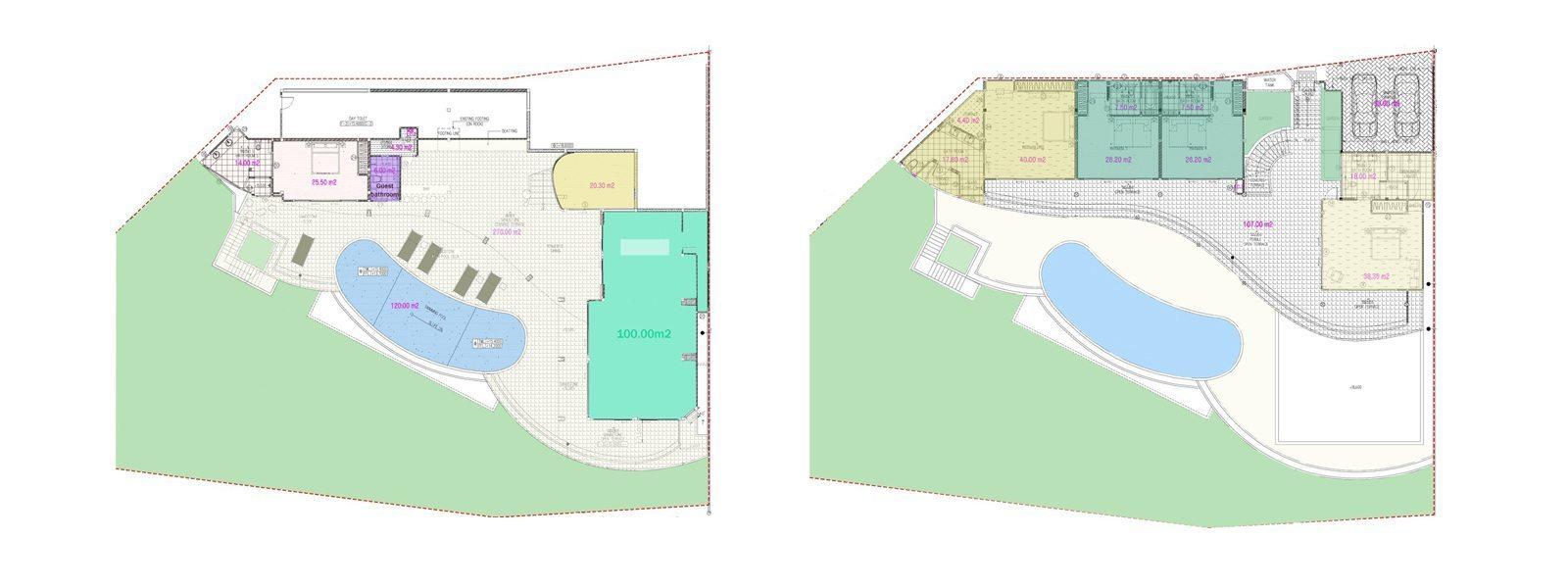 Panorama Summit Floorplan | Choeng Mon, Koh Samui
