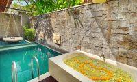 Ini Vie Villa Outdoor Bathtub | Legian, Bali