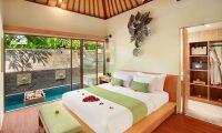 Ini Vie Villa Bedroom with Enclosed Bathroom | Legian, Bali