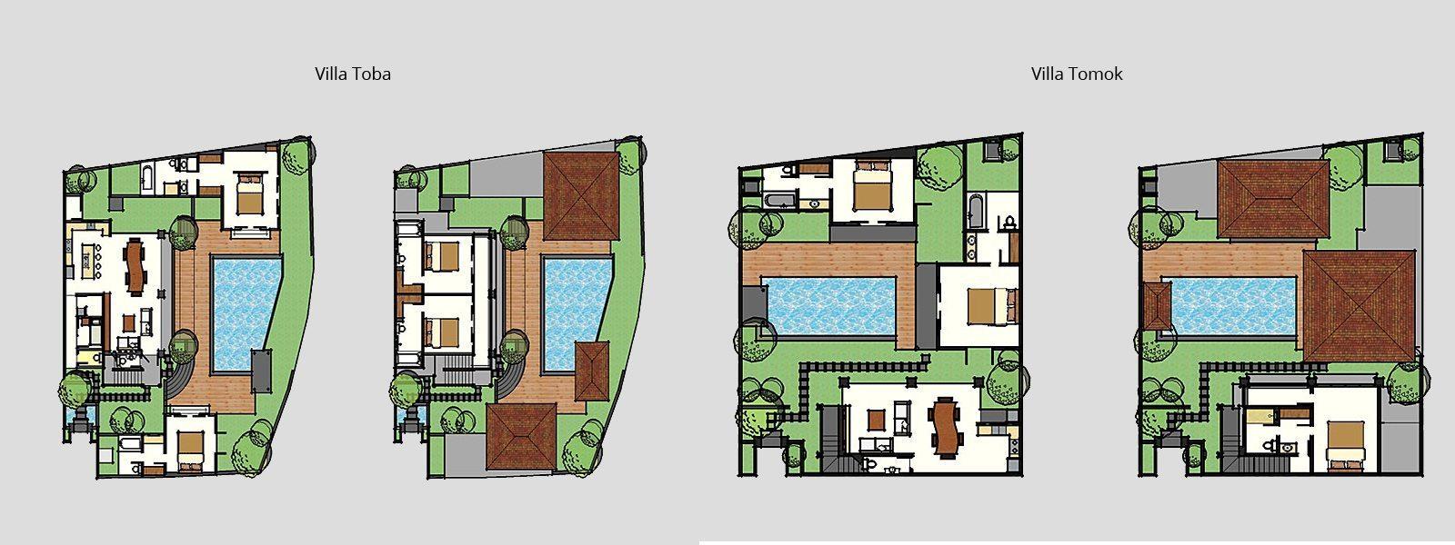 Jabunami Villa Floorplan   Canggu, Bali