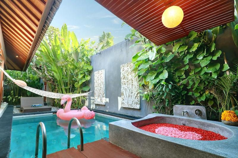 Legian Kriyamaha Villa Pool with Floating | Legian, Bali