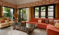 The Residence Villa Amman Residence Living Room | Seminyak, Bali