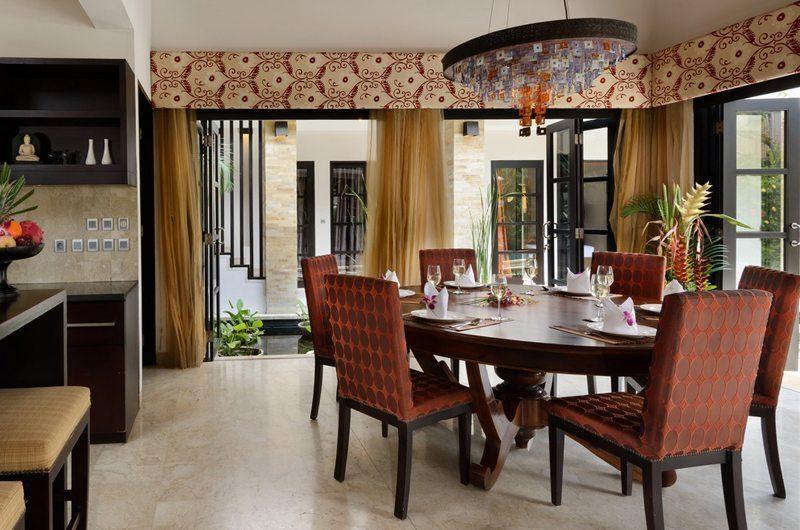The Residence Villa Amman Residence Dining Area | Seminyak, Bali