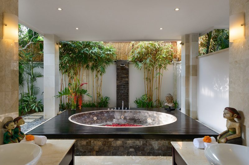 The Residence Villa Amman Residence Outdoor Bathtub | Seminyak, Bali