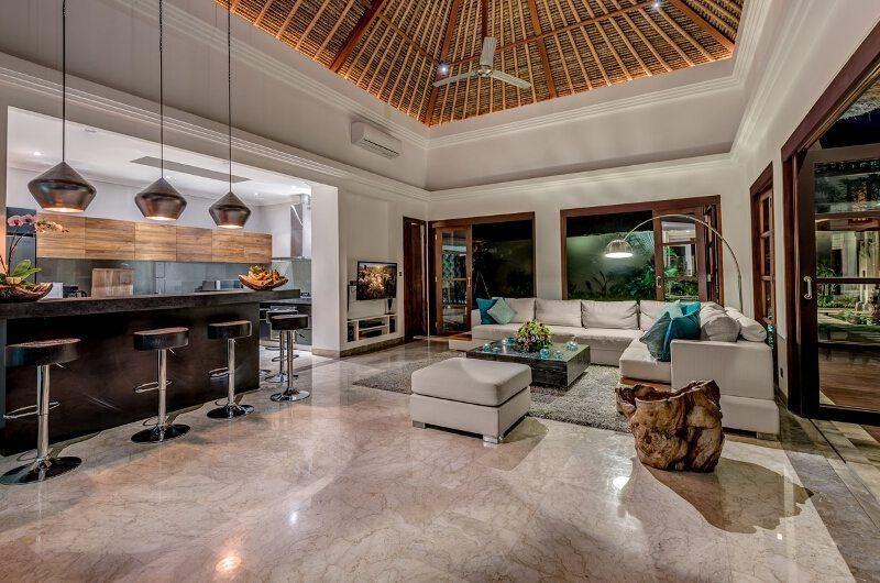 The Residence Villa Nilaya Residence Living Area | Seminyak, Bali