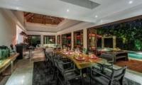 The Residence Villa Nilaya Residence Dining Area | Seminyak, Bali