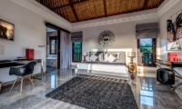 The Residence Villa Nilaya Residence Master Bedroom Front View | Seminyak, Bali