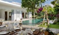 Villa Kyah Outdoor Dining | Kerobokan, Bali