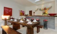 Villa Kyah Dining Area | Kerobokan, Bali