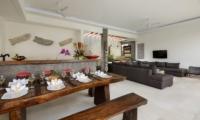 Villa Kyah Dining And Living Area | Kerobokan, Bali