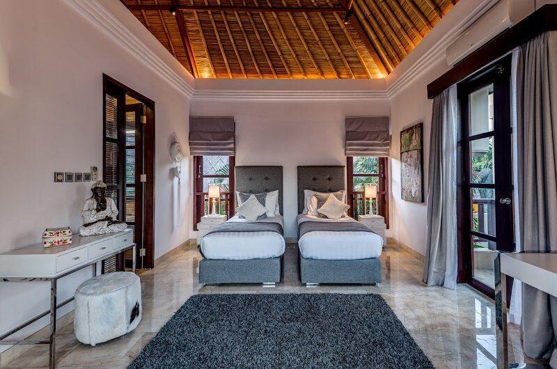 Villa Nilaya Residence Twin Bedroom | Seminyak, Bali