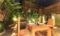 Villa Seriska Dua Seminyak Outdoor Dining | Seminyak, Bali