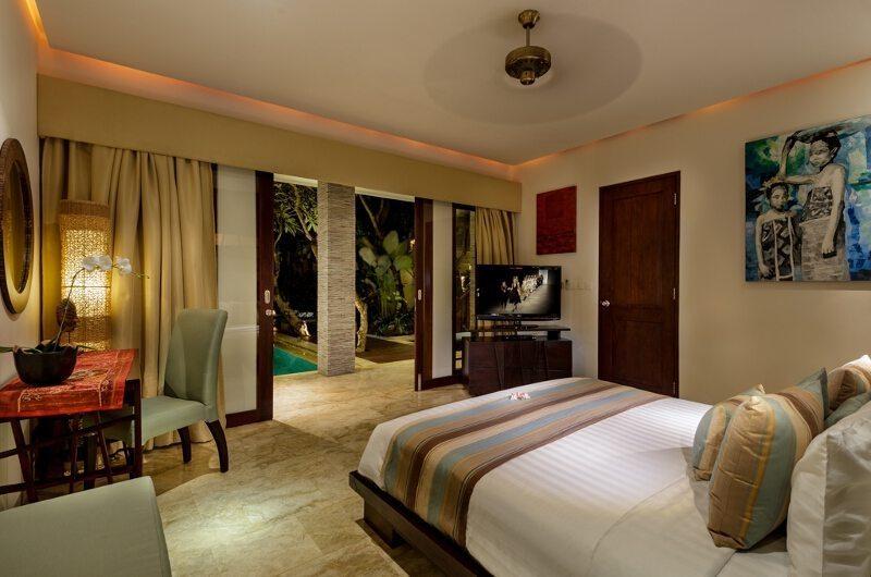 Villa Siam Residence Master Bedroom Side View   Seminyak, Bali