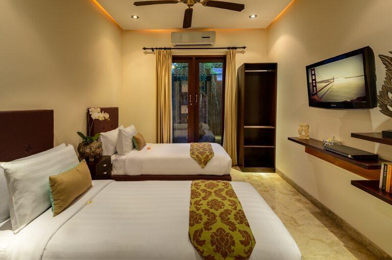 Villa Siam Residence Twin Bedroom   Seminyak, Bali