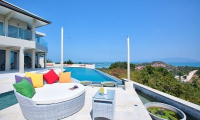 Baan Bon Khao Samui Pool Side Seating | Koh Samui, Thailand