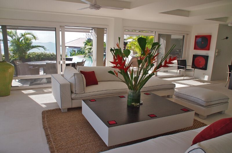 Panorama Summit Living Room | Koh Samui, Thailand