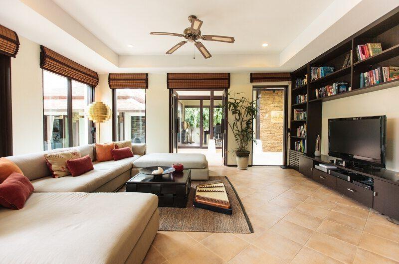 Villa Maeve Living Room | Koh Samui, Thailand