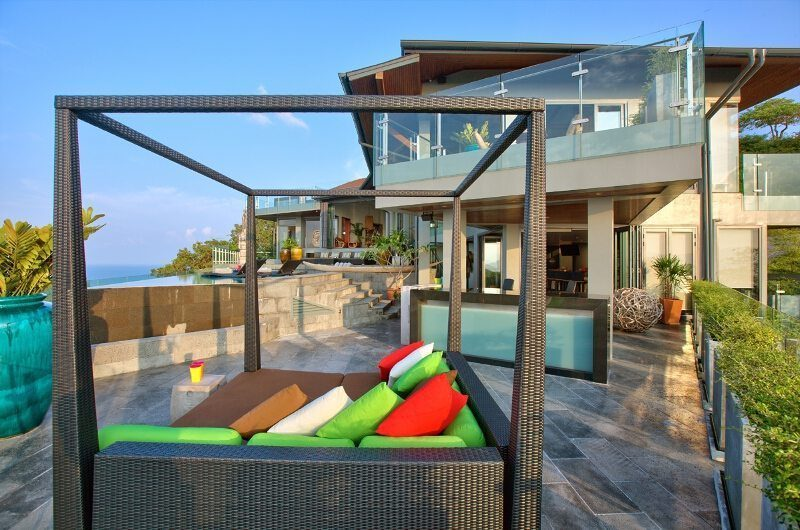 Villa Skyfall Outdoor Seating | Koh Samui, Thailand