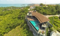 Villa Skyfall Bird's Eye View | Koh Samui, Thailand