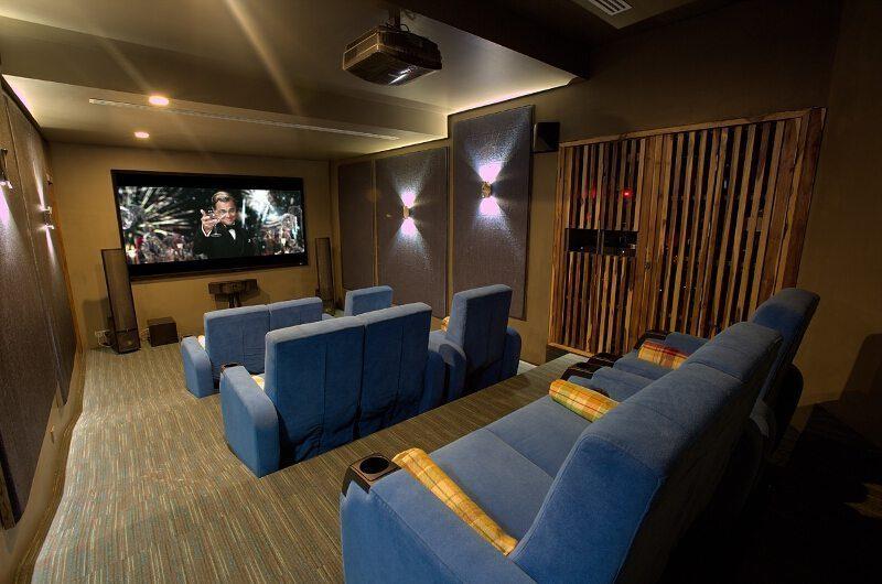 Villa Skyfall Cinema Room | Koh Samui, Thailand