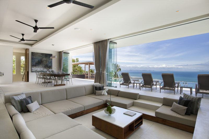 Villa Zest Living Area | Koh Samui, Thailand