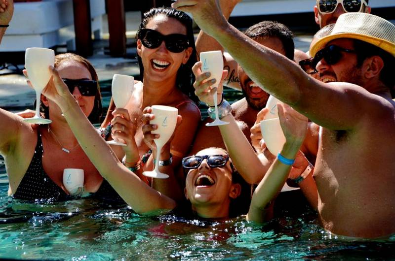 Nikki Beach Bali Party