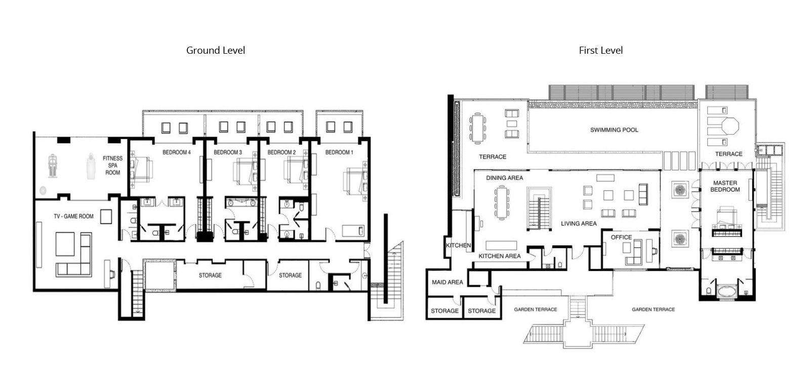 Villa Paradiso Floorplan | Naithon, Phuket
