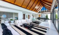 Villa Paradiso Indoor Living Area | Naithon, Phuket