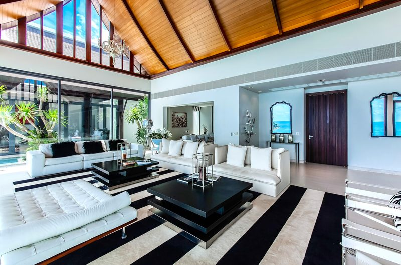 Villa Paradiso Living Area | Naithon, Phuket