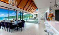 Villa Paradiso Living and Dining Area | Naithon, Phuket