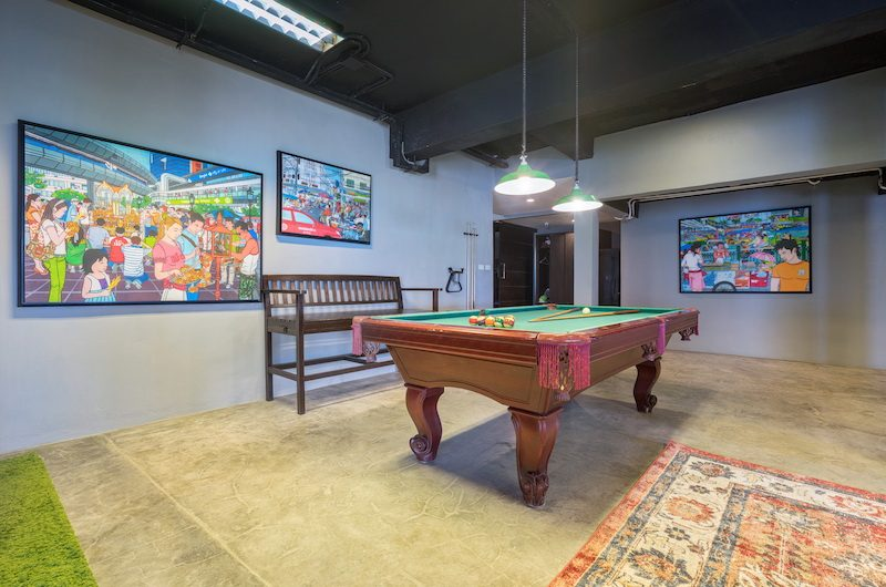 Sukham Pool Table | Chaweng, Koh Samui