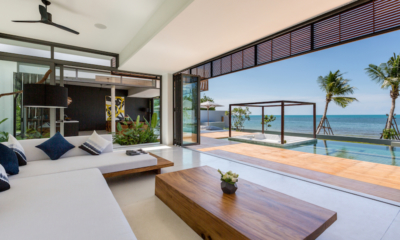Villa Malouna Living Room | Bang Por, Koh Samui