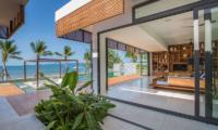 Villa Malouna Living Area | Bang Por, Koh Samui