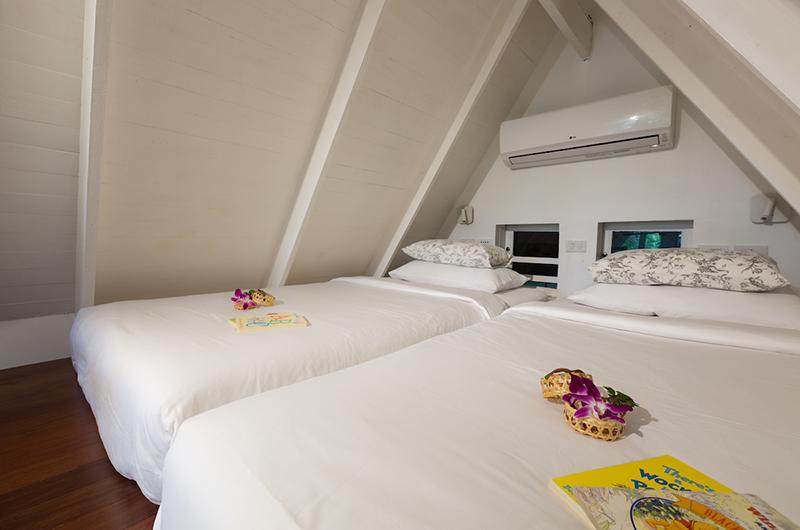 Baan Hansa Mezzanine Level Bedroom | Koh Samui, Thailand