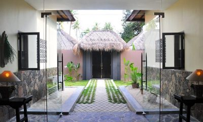 The Beach Villa Entrance | Lombok | Indonesia
