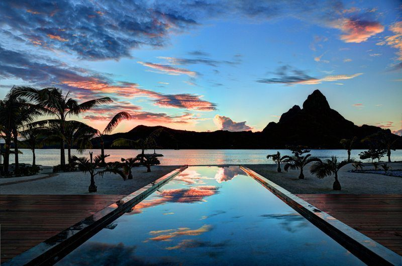 Bora Bora One Swimming Pool | Bora Bora Island, Tahiti