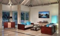 Bora Bora One Living Area | Bora Bora Island, Tahiti