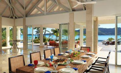 Bora Bora One Dining Area | Bora Bora Island, Tahiti