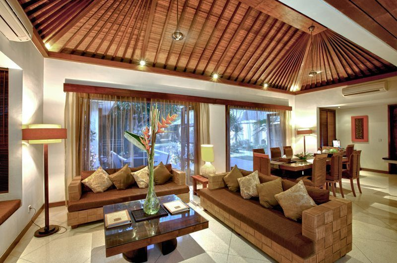 Villa Seriska Satu Sanur Living And Dining Room | Sanur, Bali
