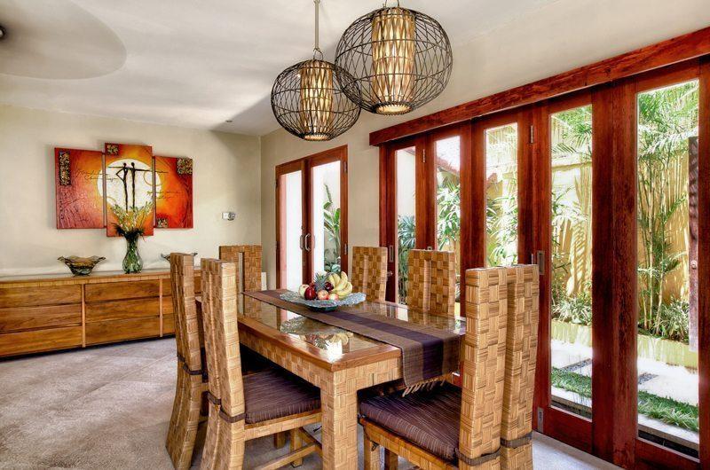 Villa Seriska Satu Seminyak Dining Area   Seminyak, Bali