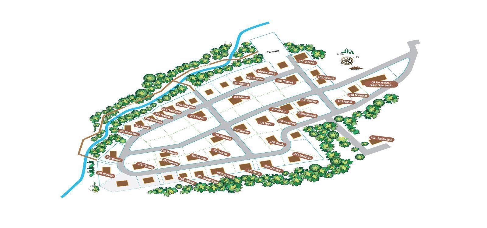 The Chalets At Country Resort Floorplan | Hirafu, Niseko