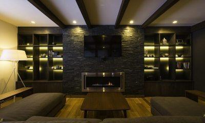 Greystone Living Room | Hirafu, Niseko
