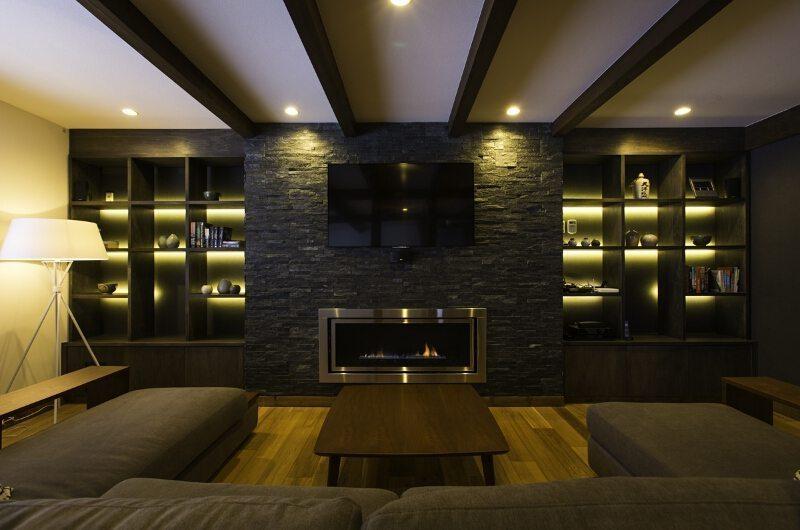 Greystone Living Room   Hirafu, Niseko