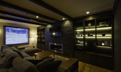 Greystone Living Area | Hirafu, Niseko