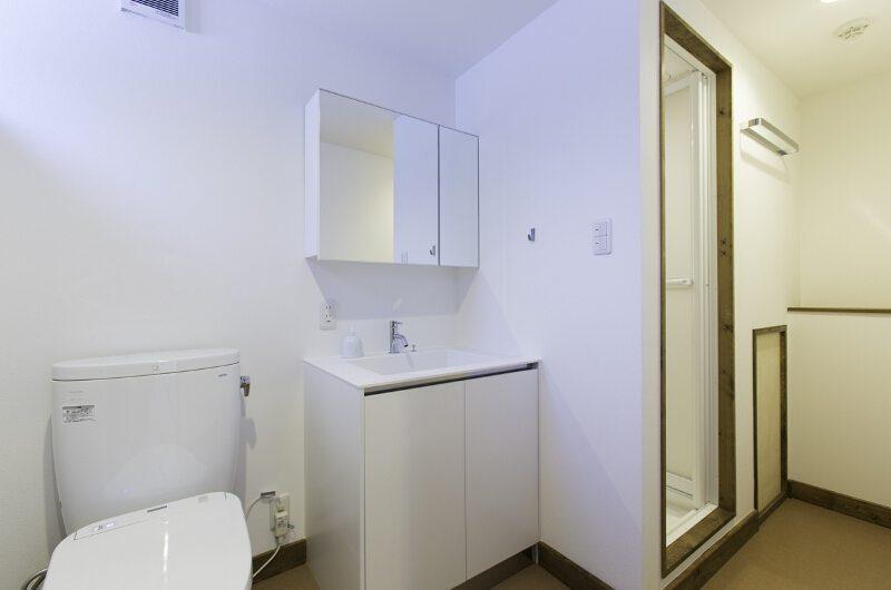 Greystone Bathroom | Hirafu, Niseko