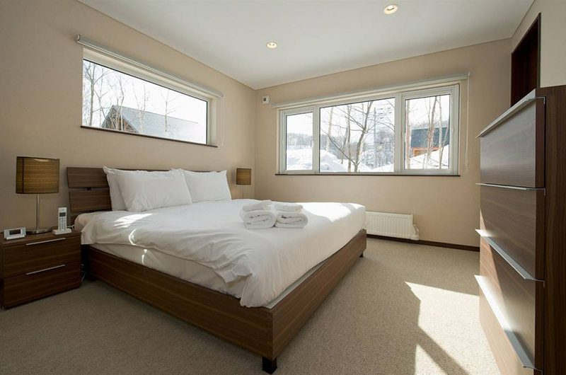 The Chalets At Country Resort Bedroom Two | Hirafu, Niseko