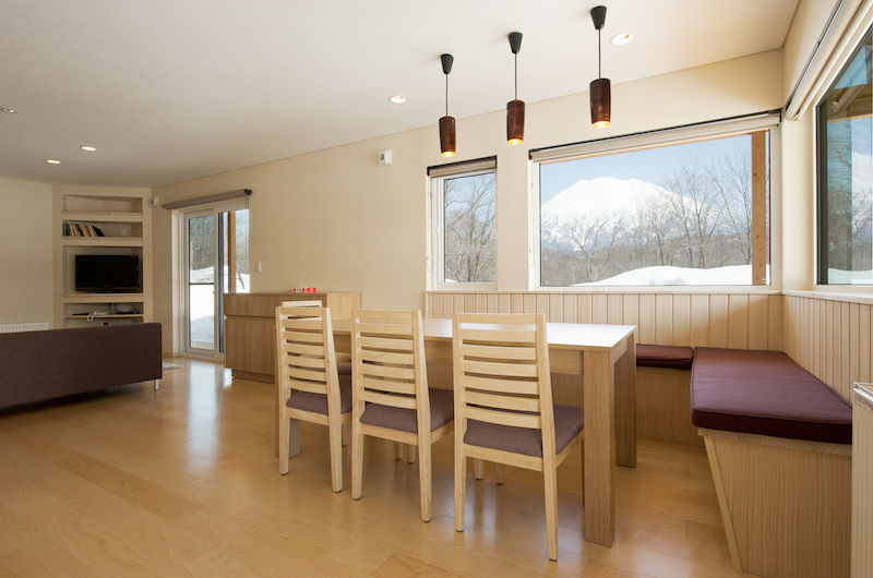 The Chalets At Country Resort Erimo Dining Table | Hirafu, Niseko