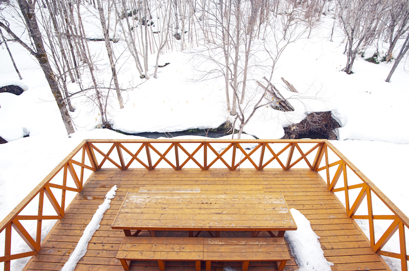 The Chalets At Country Resort Kamui Balcony | Hirafu, Niseko