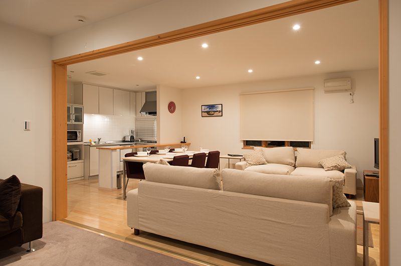 The Chalets At Country Resort Kurodake Living Area | Hirafu, Niseko