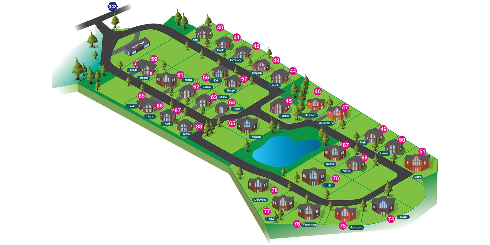 The Orchard Niseko Floor Plan | Hirafu, Niseko